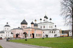 Great monasteries of Russia. Davidova pustyn. Summer Royalty Free Stock Photos