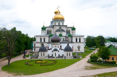 Great monasteries of Russia. Istra Stock Photo