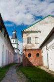 Great monasteries of Russia Stock Image