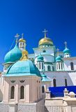 Great monasteries of Russia. New Jerusalem monastery, Istra. Stock Photos