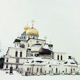 Great monasteries of Russia. New Jerusalem monastery, Istra Royalty Free Stock Images