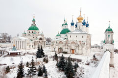 Great monasteries of Russia. Rostov Royalty Free Stock Image