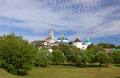 Great monasteries of Russia. Sergiev Posad Royalty Free Stock Photos