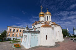 Great monasteries of Russia. Sergiev Posad Royalty Free Stock Photo