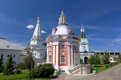 Great monasteries of Russia. Sergiev Posad Royalty Free Stock Images