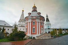 Great monasteries of Russia. Sergiev Posad royalty free stock image