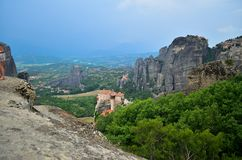 Great Monastery Meteora, Greece Stock Image