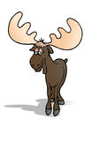 Great moose Royalty Free Stock Photos