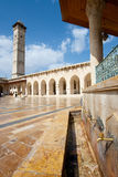 The great mosque in Alepo Stock Photo
