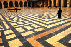 Great Mosque of Aleppo - Syria stock image