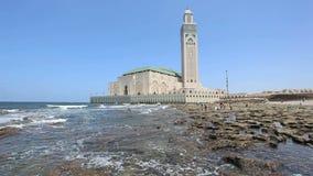 Great Mosque in Casablanca, Morocco Stock Photos