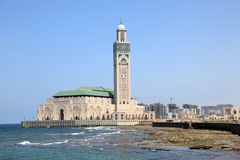 Great Mosque in Casablanca, Morocco Royalty Free Stock Images