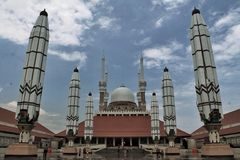 Great Mosque of Central Java Royalty Free Stock Image