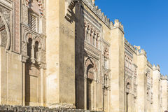 Great Mosque of Cordoba, Andalusia, Spain Stock Image
