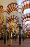 Within the Great Mosque of Cordoba Royalty Free Stock Photography