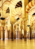 The Great Mosque of Cordoba Royalty Free Stock Images