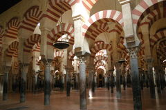 The Great Mosque of Cordoba Royalty Free Stock Photography