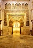 Mosque of Cordoba stock image
