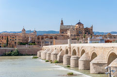 The Great Mosque of Cordoba in Spain Royalty Free Stock Photo