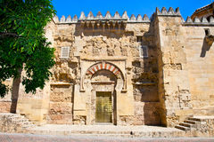 The Great Mosque (currently Catholic cathedral) in Cordoba Stock Photos