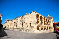 The Great Mosque (currently Catholic cathedral) in Cordoba Royalty Free Stock Image