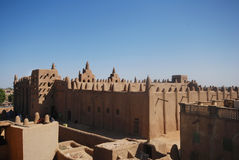 Djenne grand mosque, Mali, Africa Stock Photo