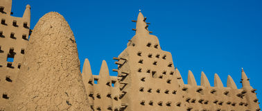 The Great Mosque of Djenné, Mali, Africa. Stock Images