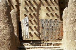 The Great Mosque, Djenne, Mali. The beautiful mud mosque in Djenne is a wonder Royalty Free Stock Photos