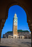 Great mosque of hassan II Stock Images