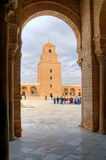 Great Mosque in Kairouan Royalty Free Stock Photography