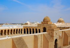 Great Mosque of Kairouan Royalty Free Stock Photos