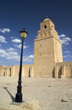 The great mosque from Kairouan, Tunisia. Portrait Stock Photography