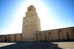 Great Mosque of Kairouan in Tunisia Stock Images