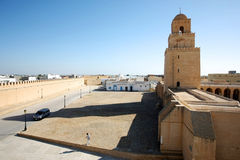 Great Mosque of Kairouan Tunisia Stock Images