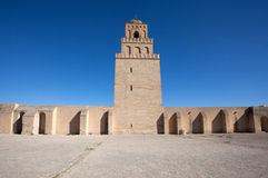 Great Mosque in Kairouan Stock Photo