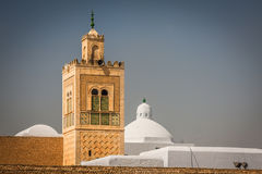 The Great Mosque of Kairouan in Tunisia Royalty Free Stock Photography