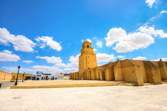 Great Mosque in Kairouan. Tunisia, North Africa Stock Images