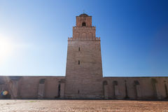 Great Mosque of Kairouan Tunisia Okby Royalty Free Stock Photos