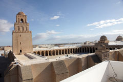 The Great Mosque from Kairouan, Tunisia Royalty Free Stock Image