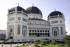 Great Mosque of Medan Stock Photos