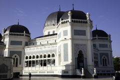 Great Mosque of Medan Royalty Free Stock Image