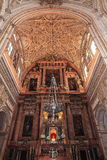 The Great Mosque or Mezquita famous interior in Cordoba, Spain Stock Photography