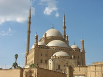 The great Mosque of Muhammad Ali Pasha or Alabaster Mosque, Cairo, Egypt. The great Mosque of Muhammad Ali Pasha also called Alabaster Mosque, Cairo, Egypt stock photography