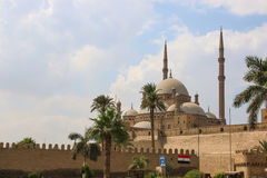 The great Mosque of Muhammad Ali Pasha or Alabaster Mosque. Egypt.  Royalty Free Stock Images