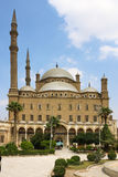 The great Mosque of Muhammad Ali Pasha or Alabaster Mosque. Egypt Stock Photography