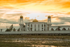 Great mosque for the religion of islam Stock Photography