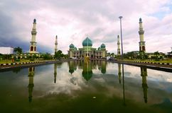 The Great Mosque of Riau,Pekanbaru, Sumatra Royalty Free Stock Images