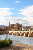 Great Mosque and Roman Bridge, Cordoba, Spain Royalty Free Stock Image