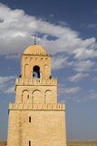 Great Mosque Tower - UNESCO World Heritage Site. The Great Mosque from Kairouan, Tunisia - UNESCO World Heritage Site Royalty Free Stock Images