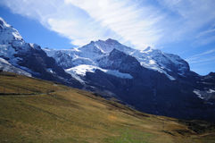 Great mountain scene Royalty Free Stock Image